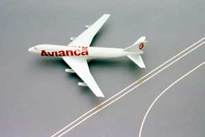 Avianca second clever logo Design on a plane | CRA Graphic Design