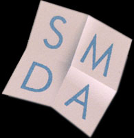 SMDA elegant logo Design made by CRA graphic design team